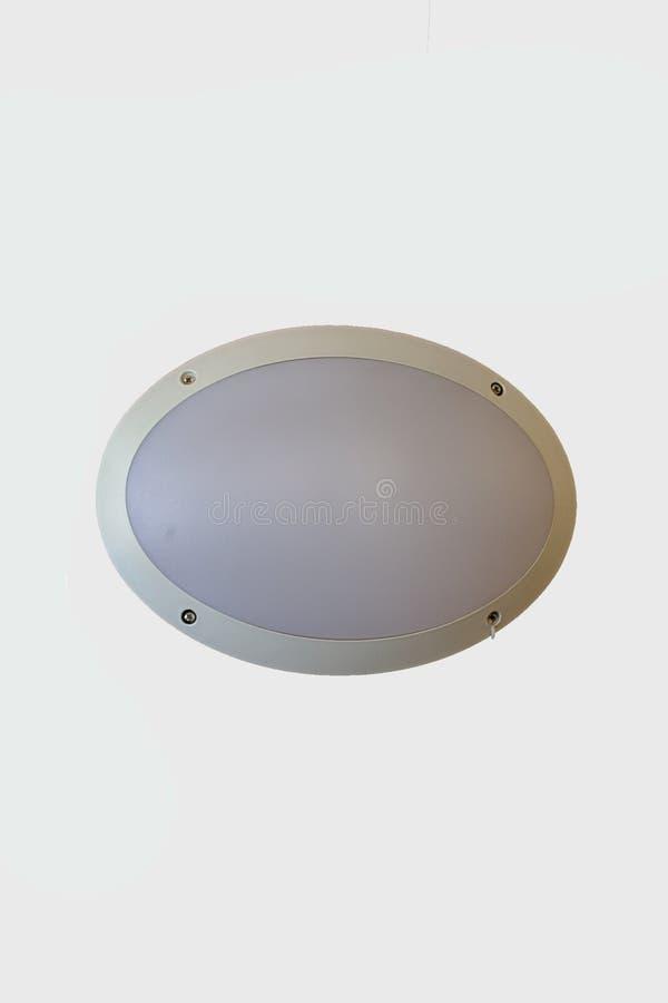 Lumière extérieure ovale image libre de droits