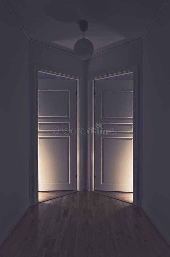 Lumière fantasmagorique image libre de droits