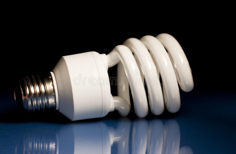 lumière fluorescente d'ampoule photo stock