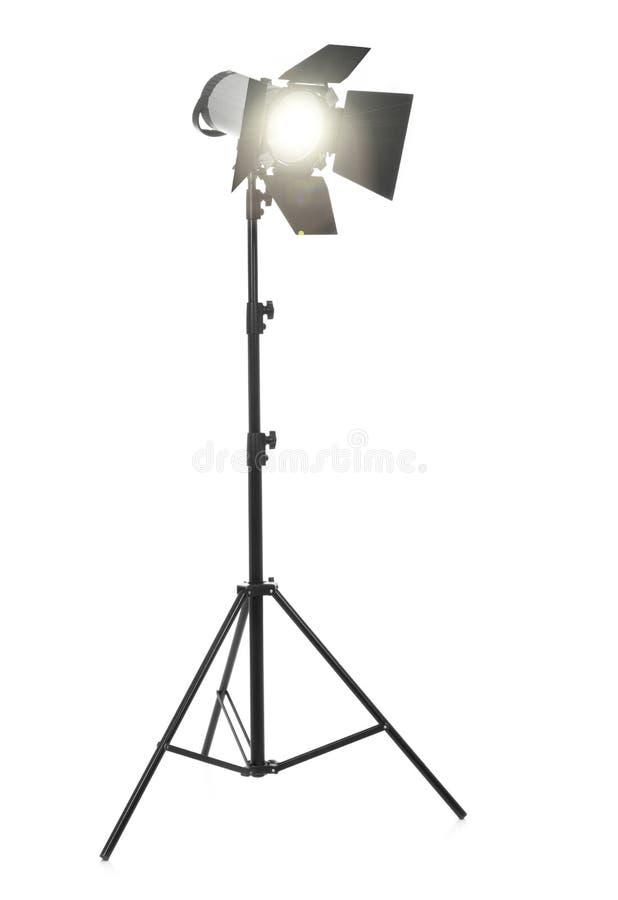 Lumière instantanée sur le blanc photographie stock libre de droits