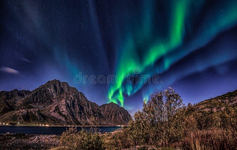 Lumière magique de nuit et de magie photos stock