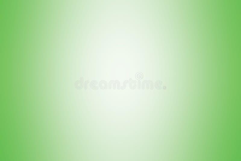 Lumière molle de gradient de couleur verte de fond, papier peint lumineux mou vert de gradient beau, tache floue molle de photo d illustration stock