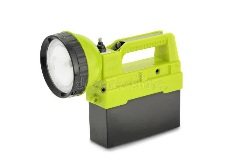 Lumière rechargeable de travail images stock