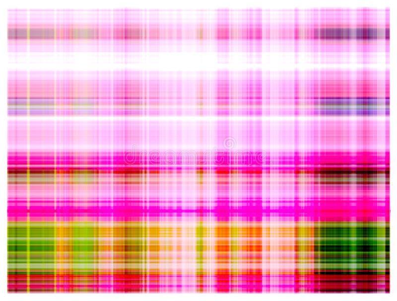 Lumière rose de fond multicolore abstrait illustration stock