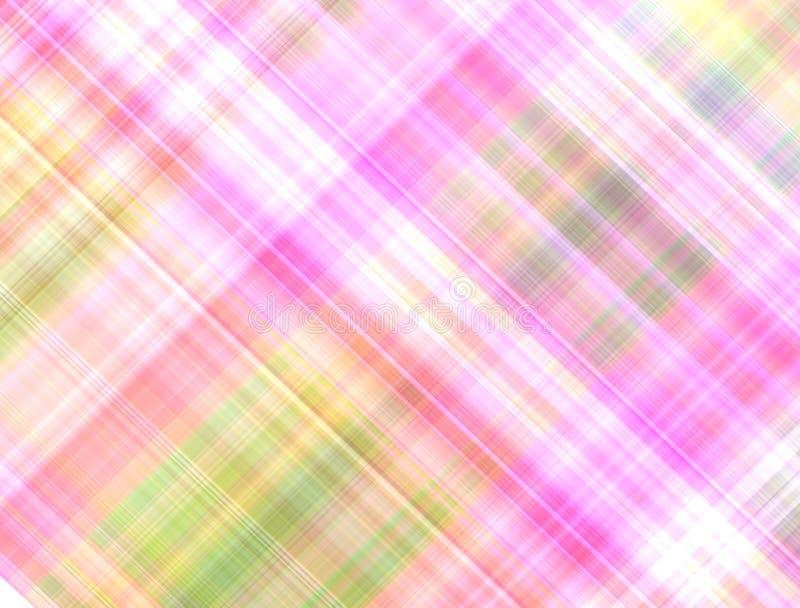 Lumière rose de fond multicolore en pastel de résumé illustration libre de droits