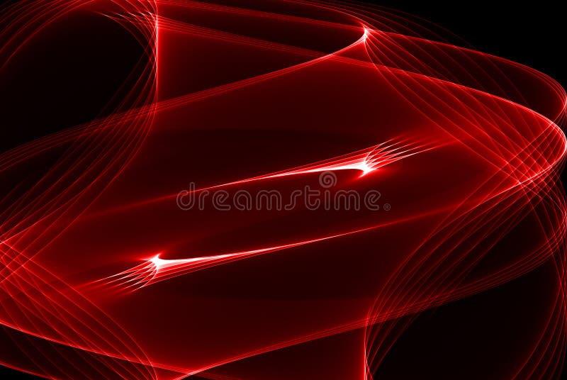 Lumière rouge illustration libre de droits