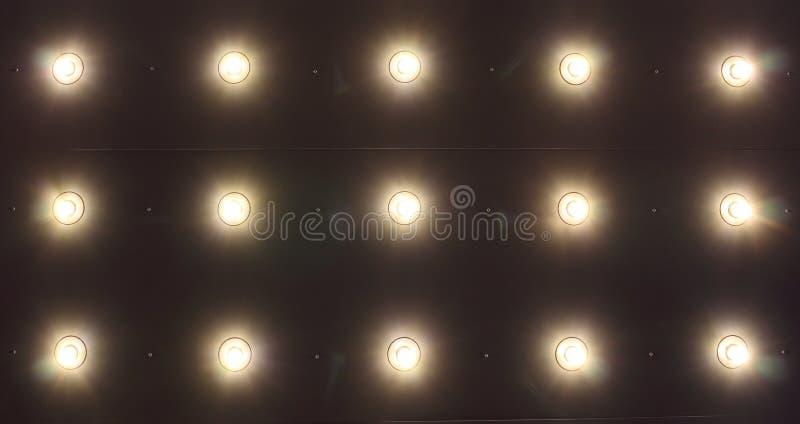 Lumière sur le plafond images libres de droits