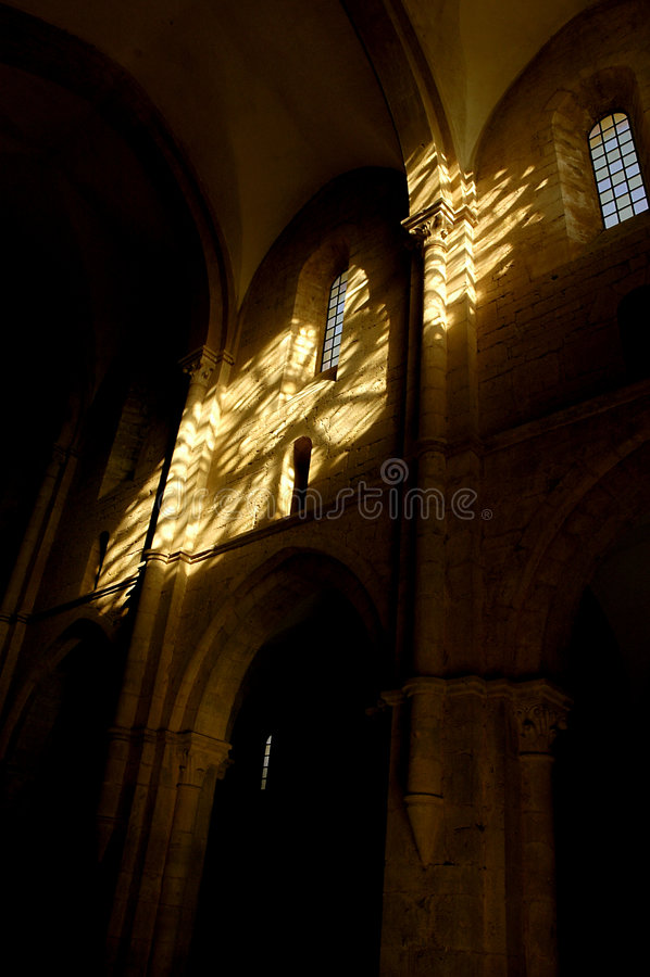 Lumières 03 de Moyen Âge images libres de droits