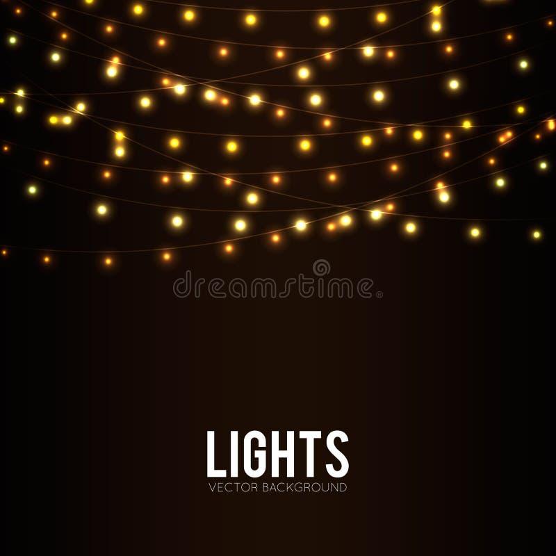 lumières illustration de vecteur