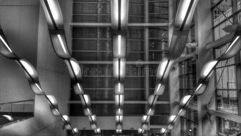 Lumières aériennes photos libres de droits