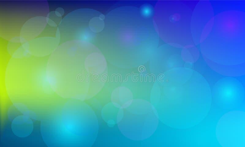 Lumières abstraites élégantes illustration libre de droits