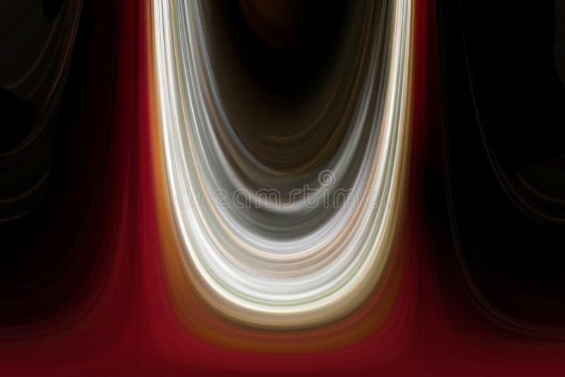 Lumières abstraites illustration de vecteur