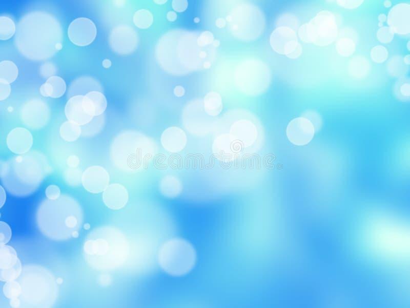 Lumières abstraites de tache floue illustration stock