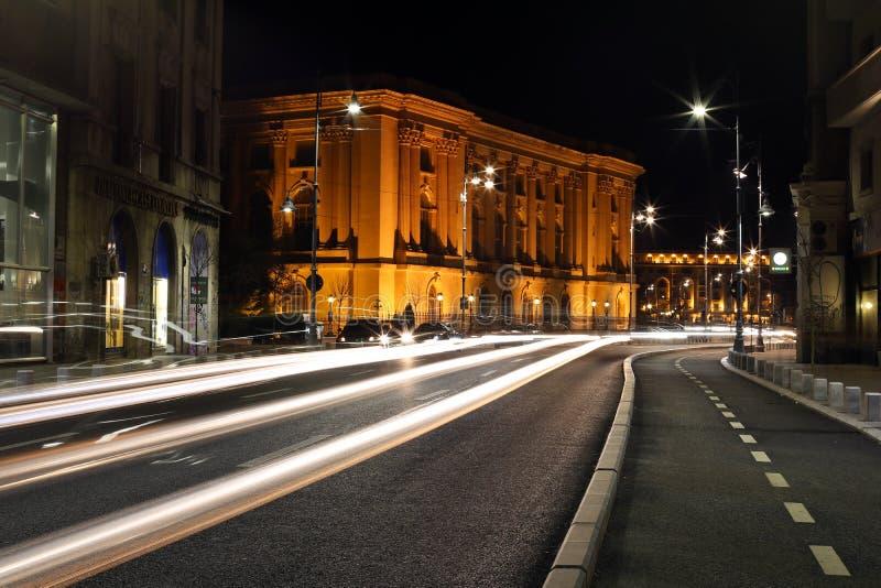 Lumières abstraites de véhicule photo libre de droits