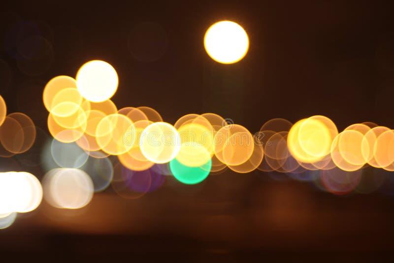Lumières abstraites, larmes dans les yeux photo stock