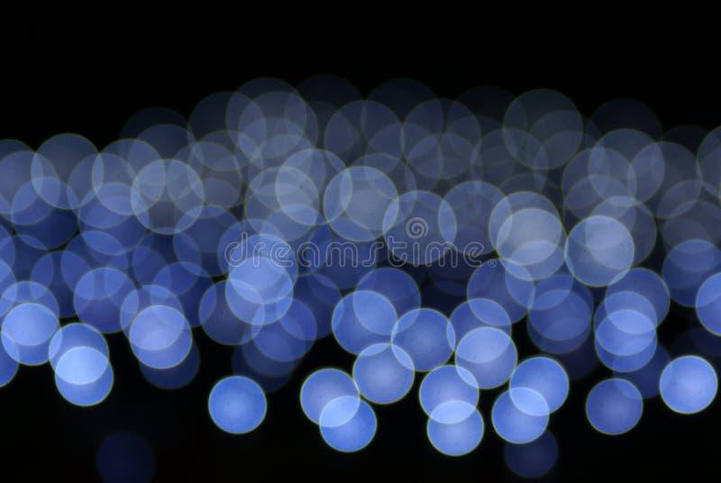 Lumières bleues circulaires photographie stock libre de droits