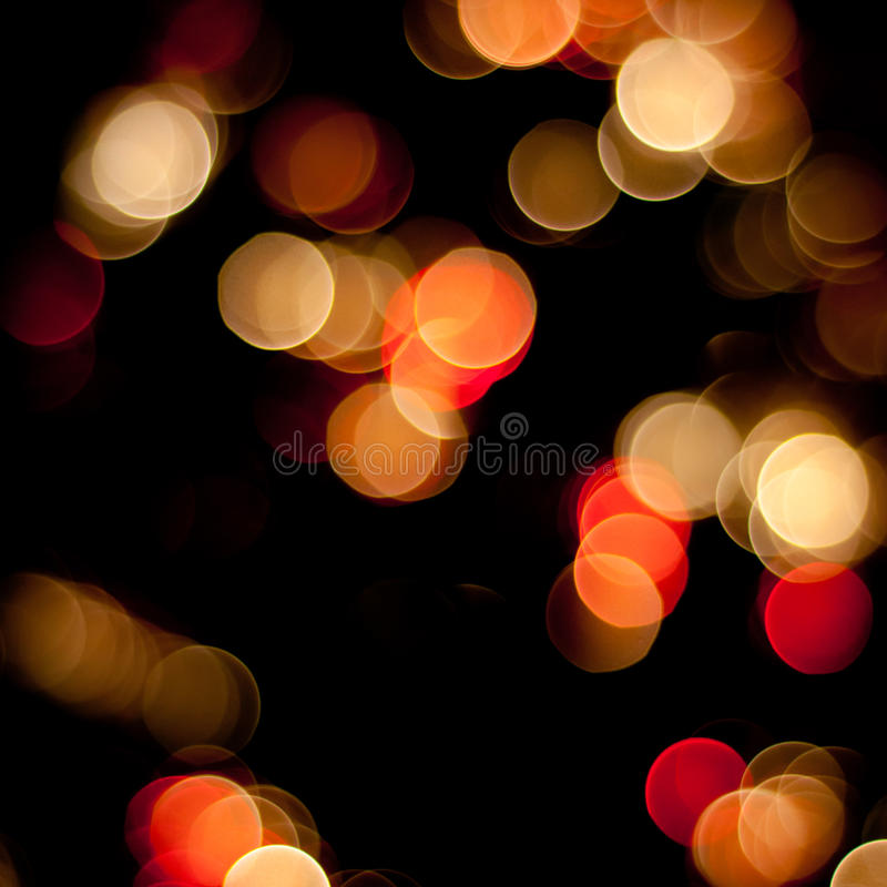 Download Lumières Brouillées Par Noël Photo stock - Image du coloré, illumination: 45369334