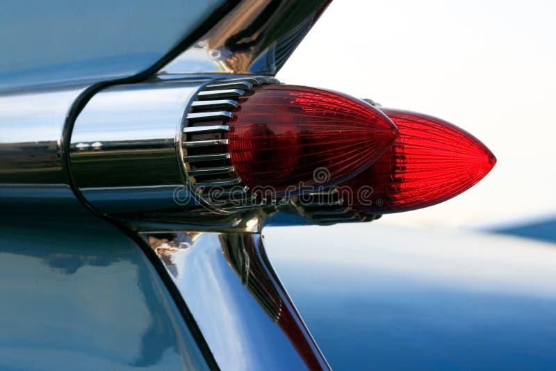 Lumières classiques de queue de voiture photo libre de droits