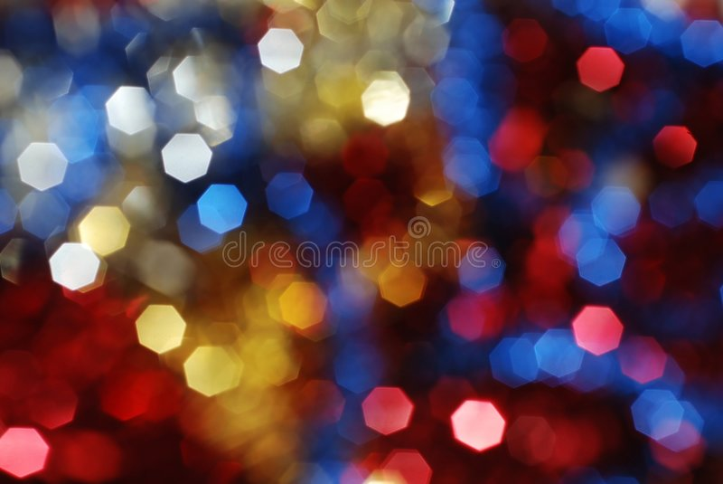 Lumières colorées photos stock