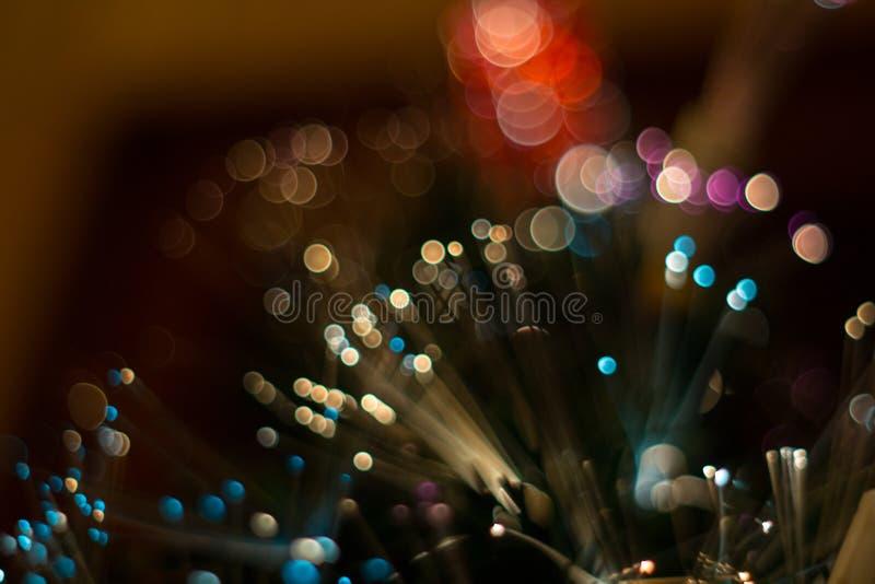 Lumières colorées d'éclat images libres de droits