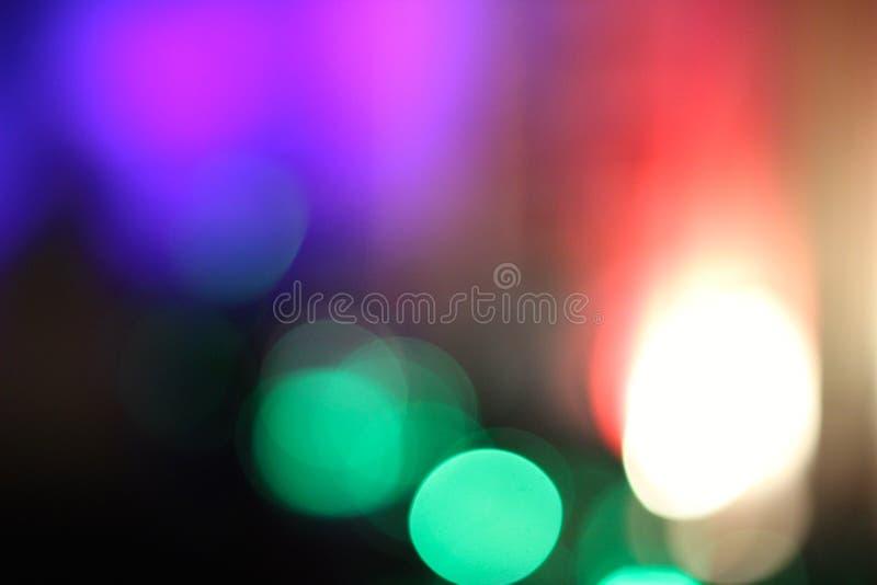 Lumières colorées troubles 3 photo stock