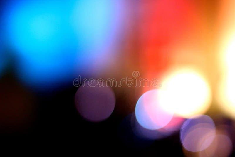 Lumières colorées troubles 2 images libres de droits