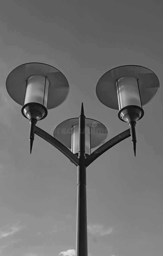 Lumières déconnectées de ville photos stock