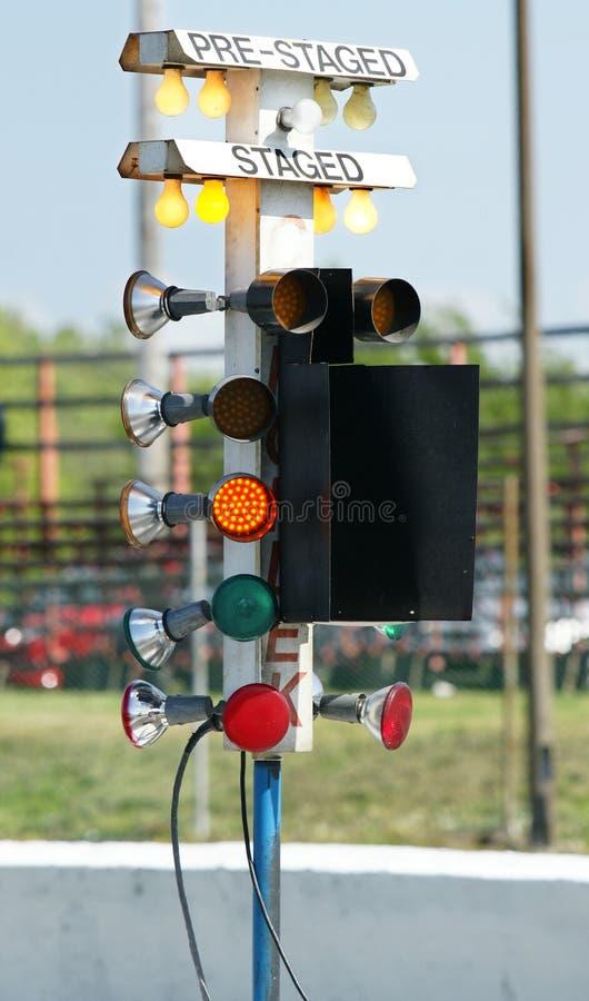 Lumières d'échafaudage photographie stock