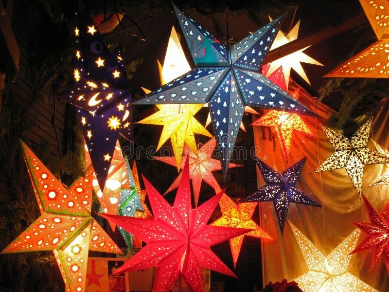 Lumières d'étoile photographie stock libre de droits