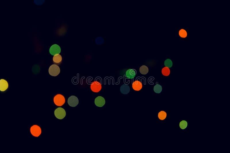 Lumières d'arbre de Noël photos libres de droits