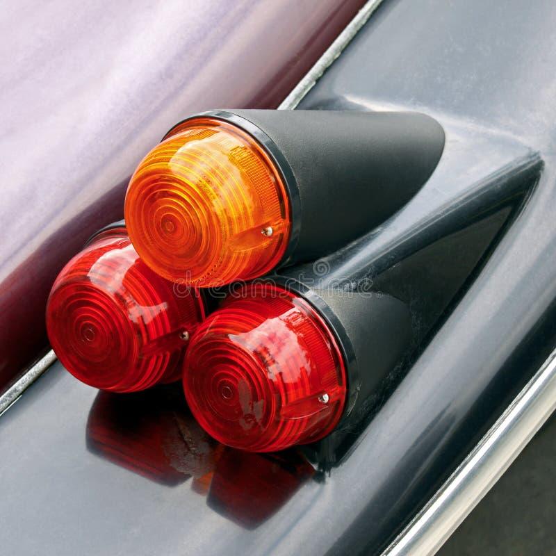 Lumières d'arrière de véhicule image libre de droits