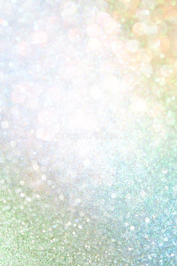 Lumières de bokeh d'abrégé sur Colorfull. fond defocused photo libre de droits