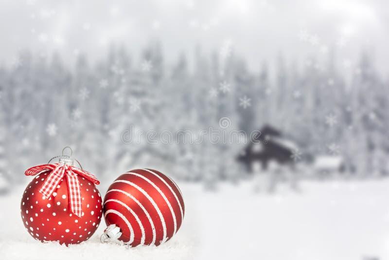 Lumières de décoration et de vacances d'arbre de Noël photographie stock libre de droits