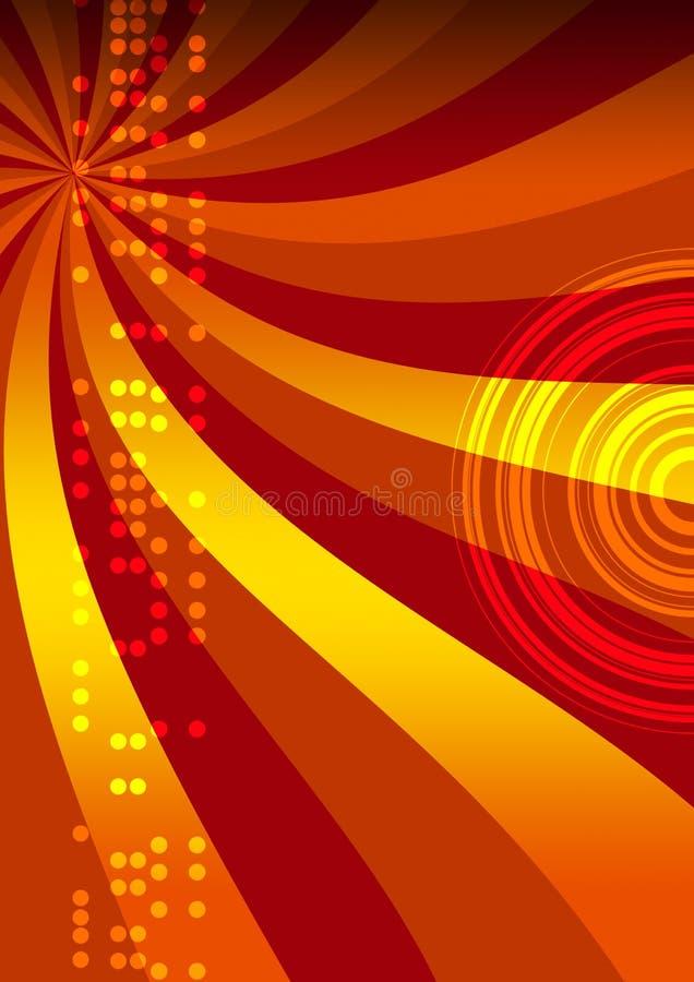 Lumières de disco illustration libre de droits