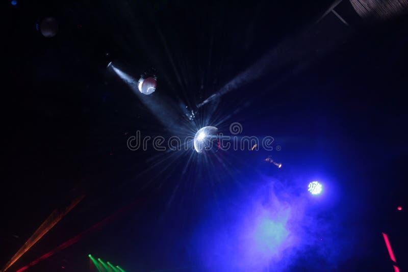 Lumières de disco photos stock