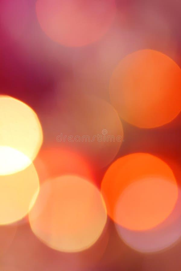 lumières de groupe de Noël images libres de droits