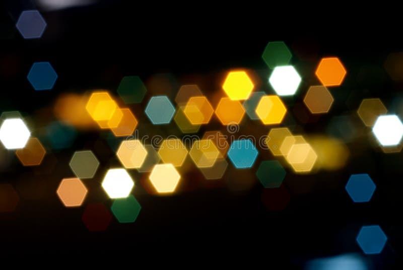 Lumières de la ville photos stock