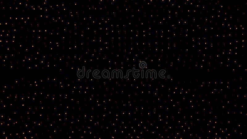 Lumières de LED à l'arrière-plan de nuit photos libres de droits