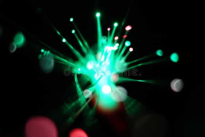 Lumières de mouvement de vitesse images stock