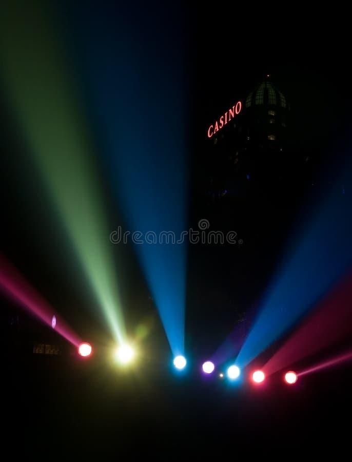Lumières de Niagara Falls photo libre de droits