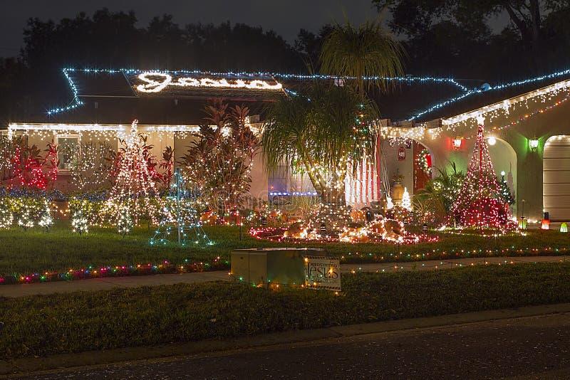 Lumières de Noël photo libre de droits