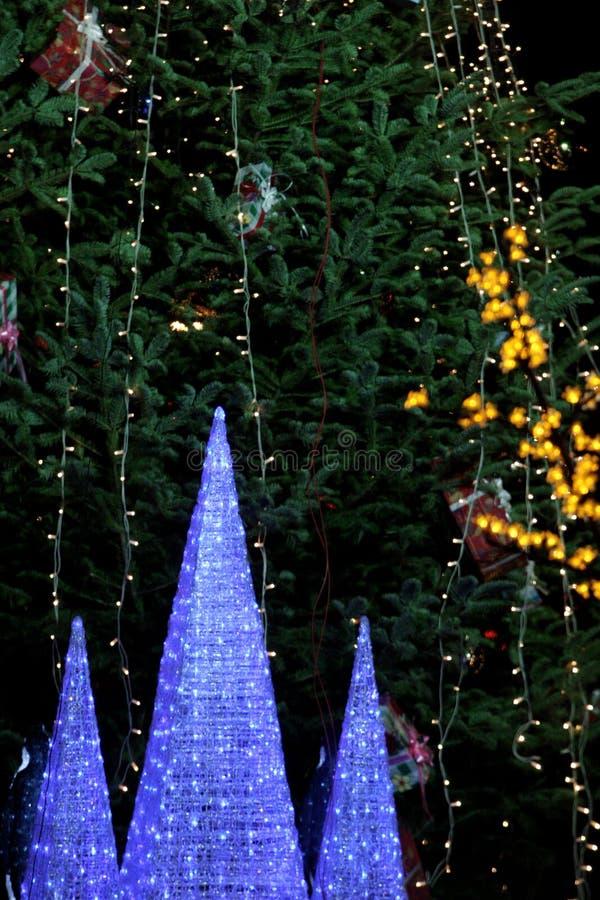 Lumières de Noël image libre de droits