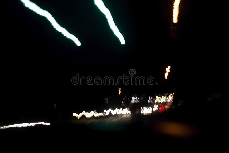 Lumières de nuit image libre de droits