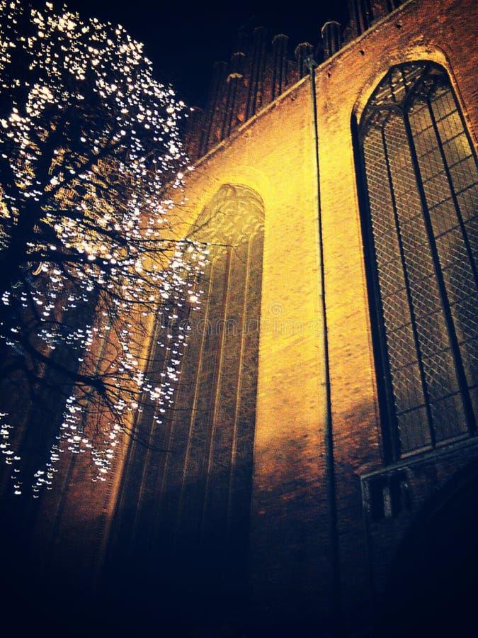 Lumières de nuit photo libre de droits
