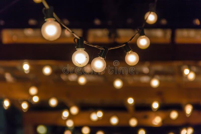 Lumières de partie images stock