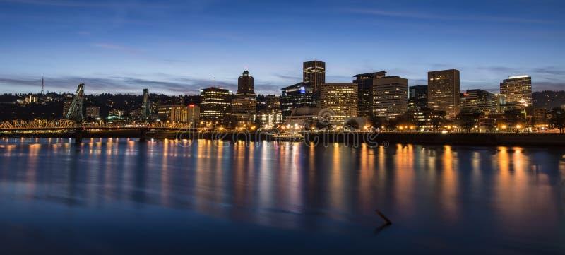 Lumières de Portland photos libres de droits