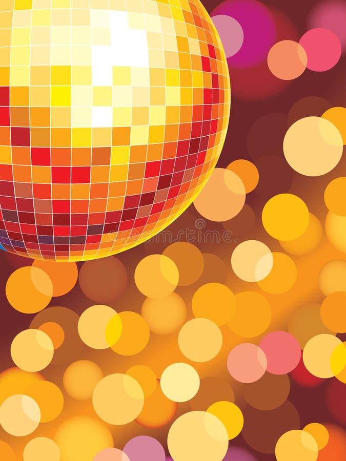 Lumières de réception illustration stock