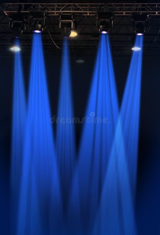 Lumières de Stahe images libres de droits