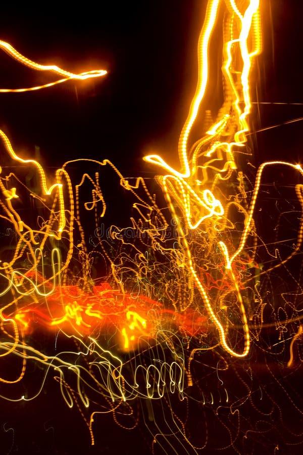 Lumières de strie abstraites images libres de droits