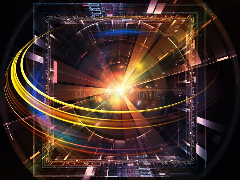 Lumières de technologie illustration de vecteur